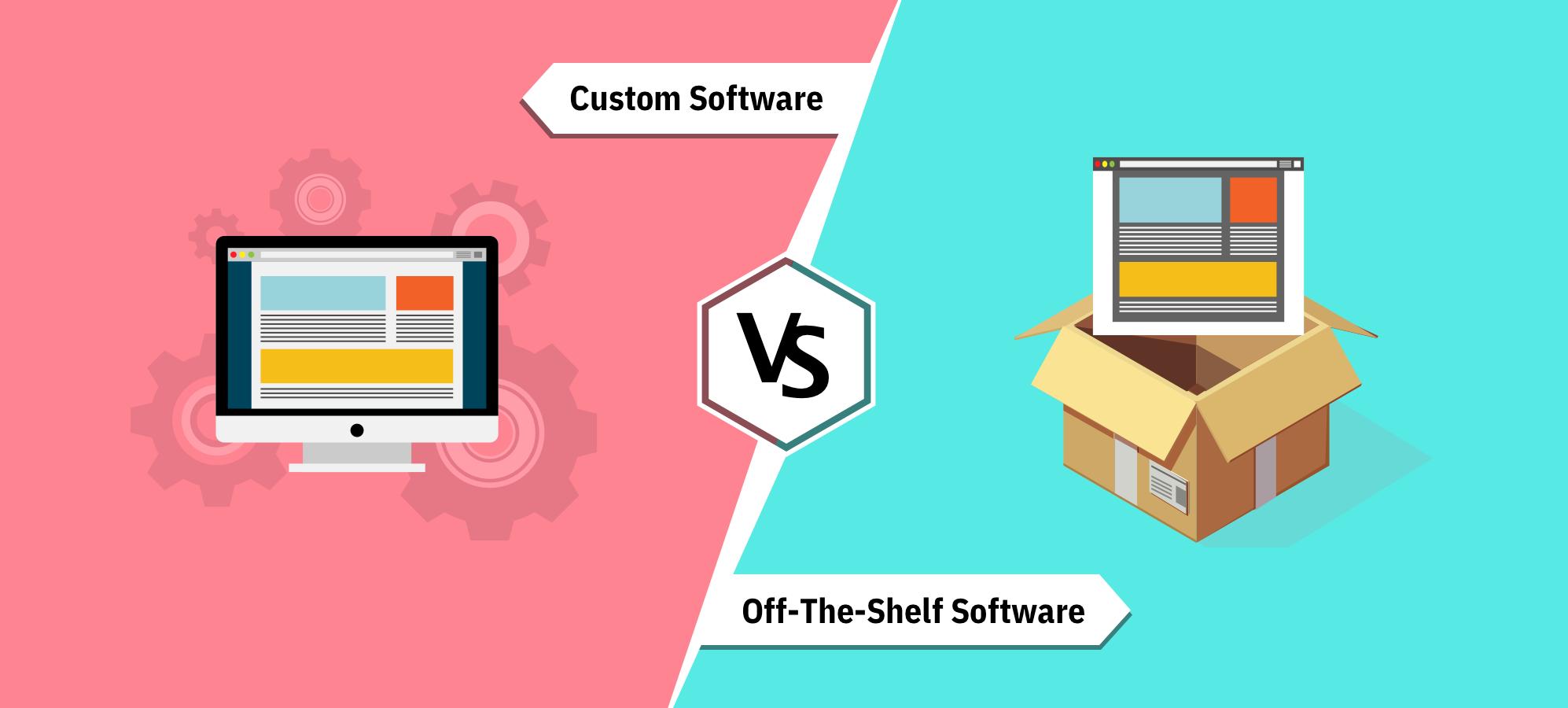 Custom-Software-vs-Off-the-Shelf-Software