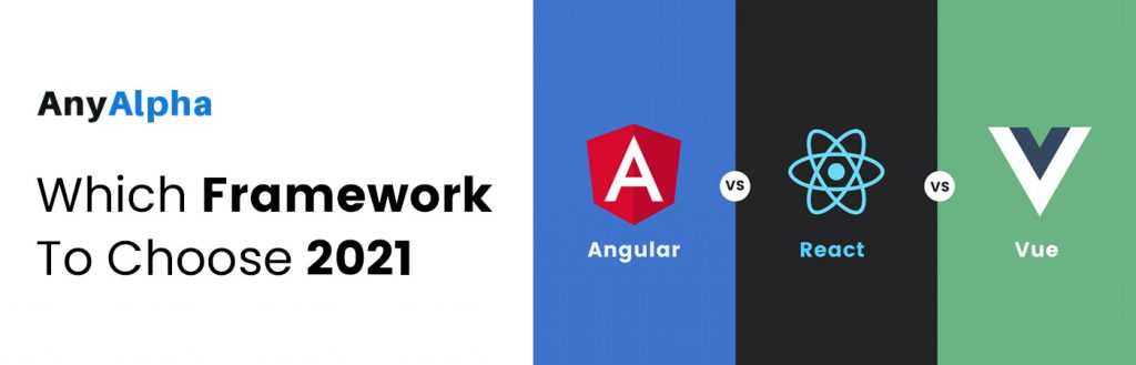 React vs Angular vs Vue Which Framework to Choose in 2021