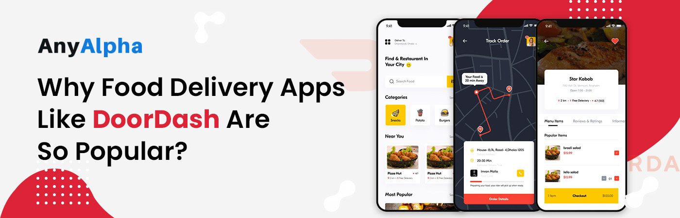 On Demand Food Delivery Apps like DoorDash