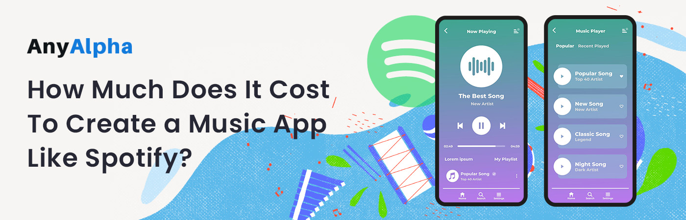 How Much Does It Cost to Create a Music App like Spotify?
